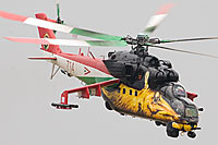 special coloured Mi-24 Hind