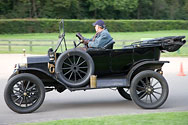 the right car to go to Shuttleworth!