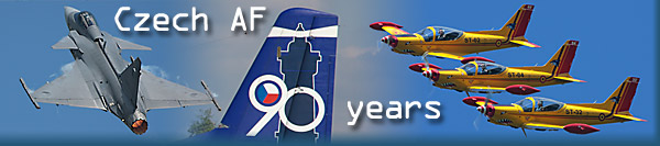 90 years of Czechoslovakian AF - Caslav AFB