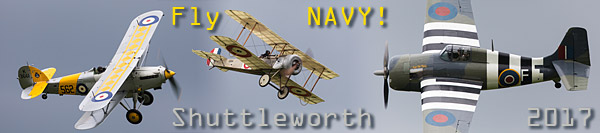 Shuttleworth Old Warden 2017 Fly Navy airshow report and photos