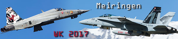 Meiringen Swiss Air Force WK 2017