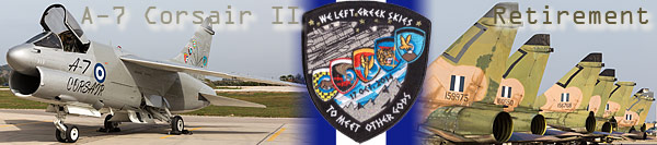 A-7 Corsair II Retirement Ceremony, HAF AFB Araxos