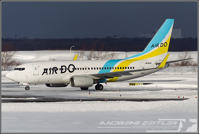 Chitose Airport Air Do 3657 Zeitler 700 470 90